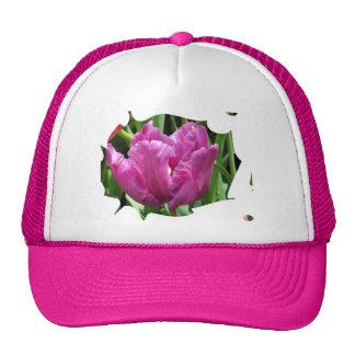 Purple Tulip Cap