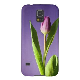 Purple tulip case for galaxy s5