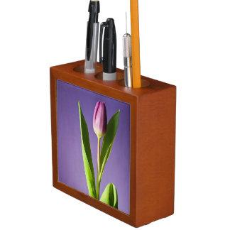 Purple tulip desk organiser