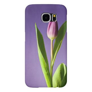 Purple tulip samsung galaxy s6 cases