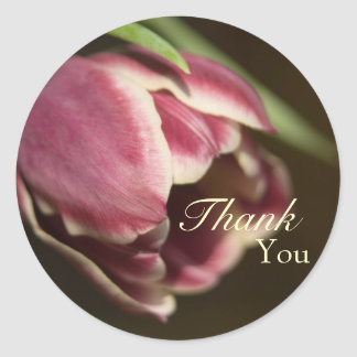 Purple Tulip • Thank You Sticker