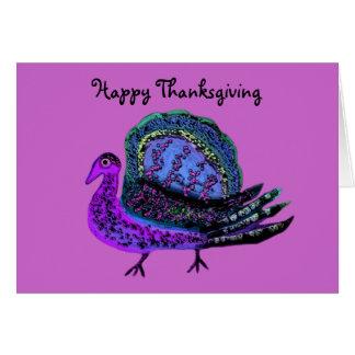 Purple Turkey Diva Cards