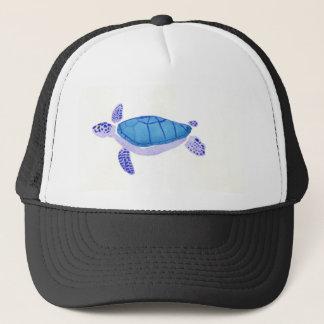 Purple Turtle Trucker Hat