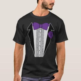 Purple Tuxedo Shirt