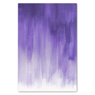 Purple ultraviolet loose brush art tissue paper