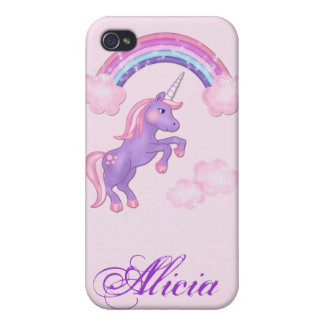 Purple Unicorn 4S  iPhone 4/4S Cases