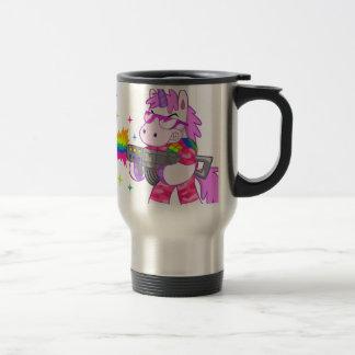 Purple Unicorn - Gun Travel Mug