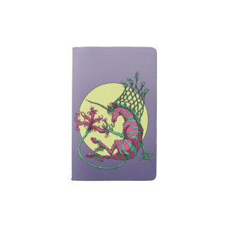 Purple Unicorn Pocket Moleskine Notebook