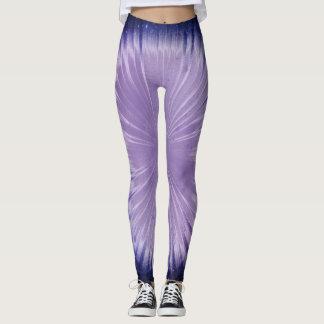 Purple Universe Leggings