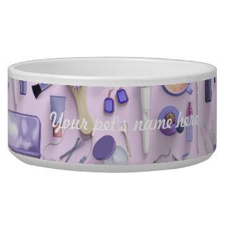 Purple Vanity Table