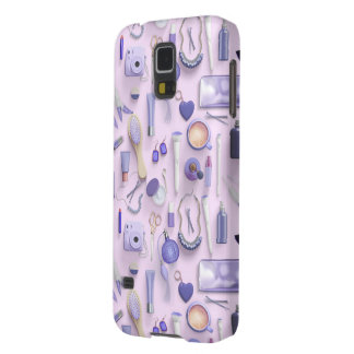 Purple Vanity Table Galaxy S5 Covers
