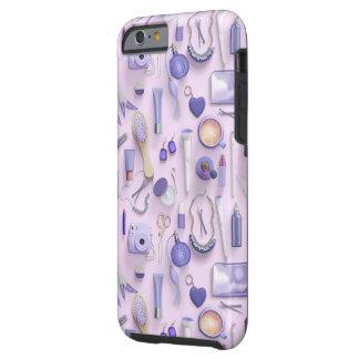 Purple Vanity Table Tough iPhone 6 Case