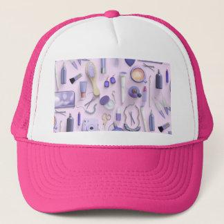 Purple Vanity Table Trucker Hat
