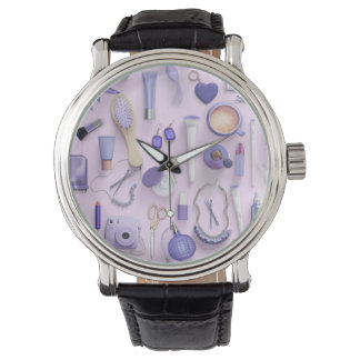 Purple Vanity Table Watch