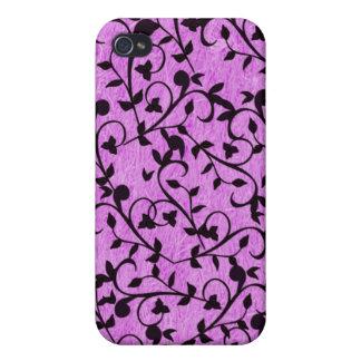 - Purple Vines iPhone 4 Cases