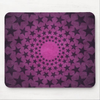 purple vintage circles stars abstract art mouse pads