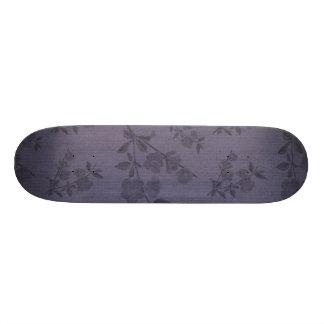 Purple Vintage Wallpaper Skateboard