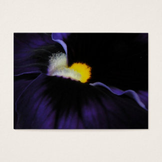Purple Viola Macro ATC 2 Business Card