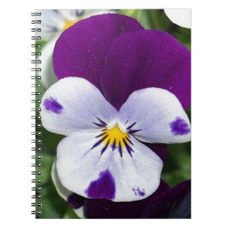 Purple Viola Spiral Notebook