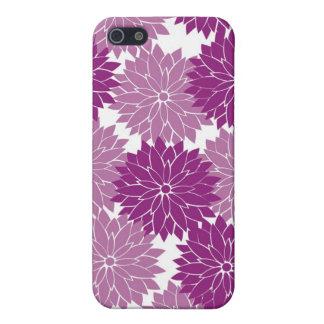 Purple Violet Lavender Flower Blossoms Floral iPhone 5/5S Cover