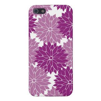 Purple Violet Lavender Flower Blossoms Floral iPhone 5 Case