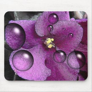 Purple Violet Mouspad Mouse Pad