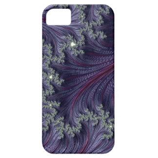 Purple Violet Wispy Feathery Elegant Fancy Fractal Case For The iPhone 5