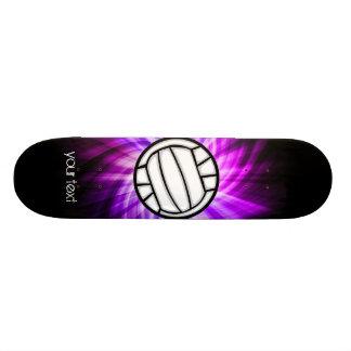 Purple Volleyball Skateboard