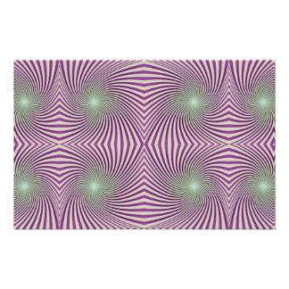 Purple vortex stationery
