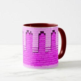 Purple Wall Mug