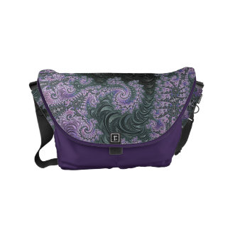 Purple Wanderer Messenger Bag Design