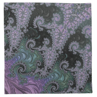 Purple Wanderer Napkin Dining Room Design