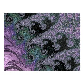 Purple Wanderer Postcard Design