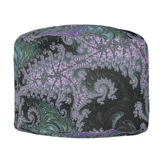 Purple Wanderer Pouffe Living Room Design Pouf