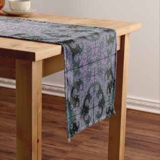 Purple Wanderer Table Runner Dining Room Design