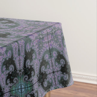 Purple Wanderer Tablecloth Dining Room Design