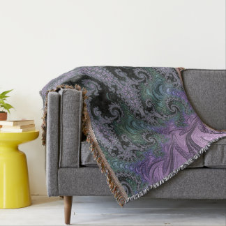 Purple Wanderer Throw Rug Living Room Design