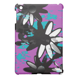 Purple Water Garden Abstract Case For The iPad Mini