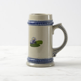 Purple Water Lilies in Sunshine Coffee Mug