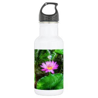 Purple Water Lily 532 Ml Water Bottle