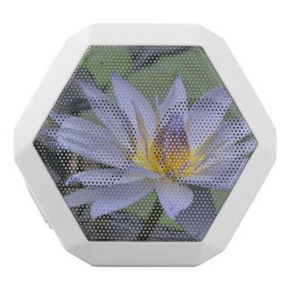 Purple Water Lily White Boombot Rex Bluetooth Speaker