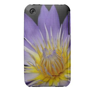 Purple Water Lily iPhone Case iPhone 3 Case-Mate Case