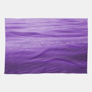 Purple Water Tea Towel