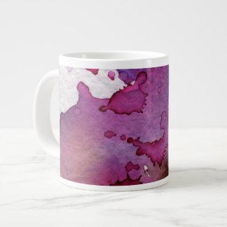 Purple Watercolor Background Jumbo Mug