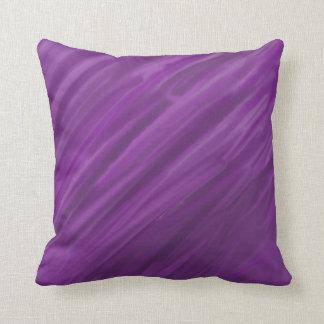 Purple Watercolor Cushion