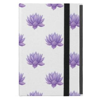 Purple Watercolor Succulent Case