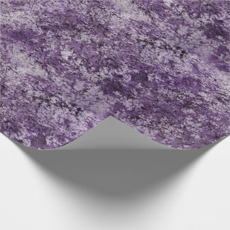 Purple Watercolor Wrapping Paper