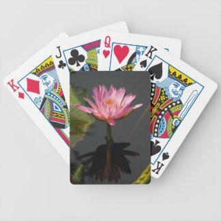 Purple Waterlily Lotus Playing Cards