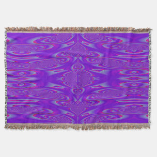 Purple Wave SDL Throw Blanket