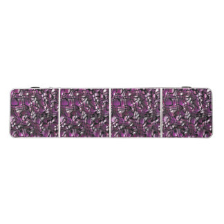 Purple Waves Abstract Beer Pong Table